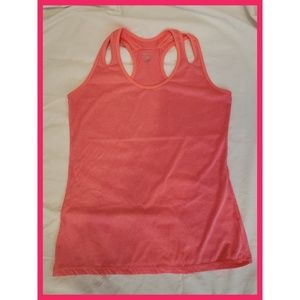 Hot Pink Sexy Sports Essentials Workout Tank Small